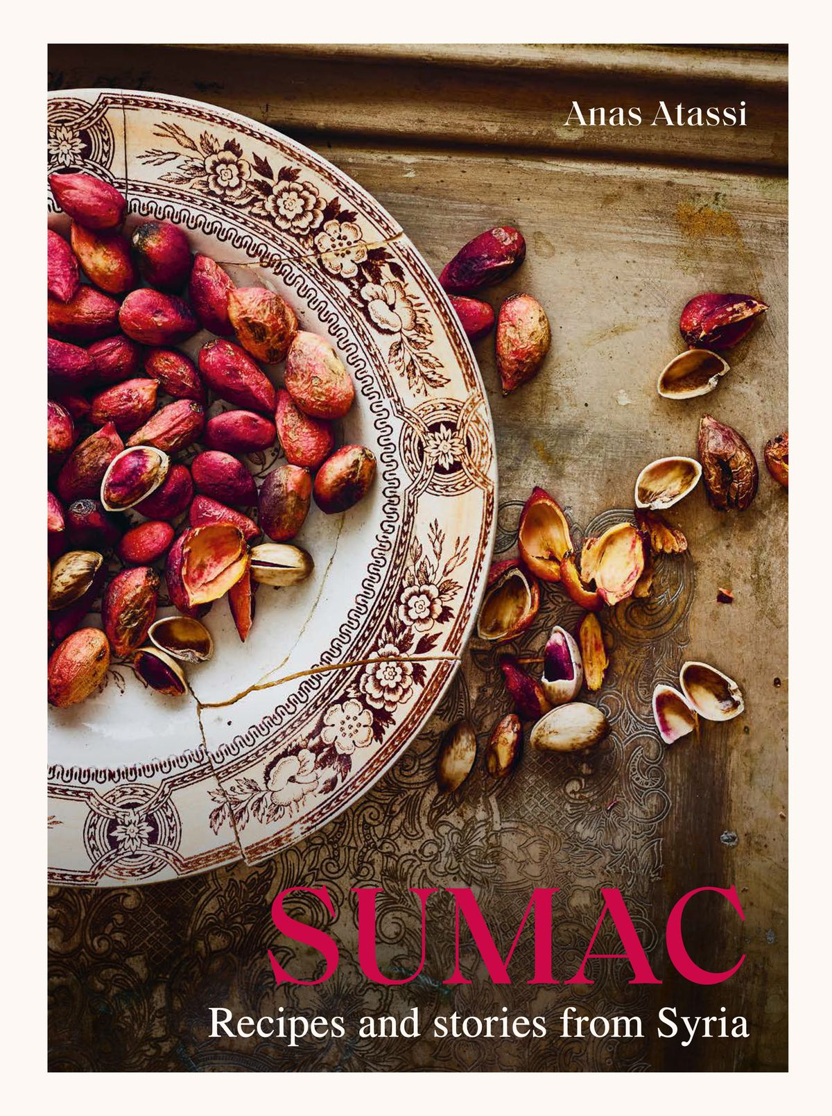 "A bowl of sumac on the book cover for ""Sumac"""