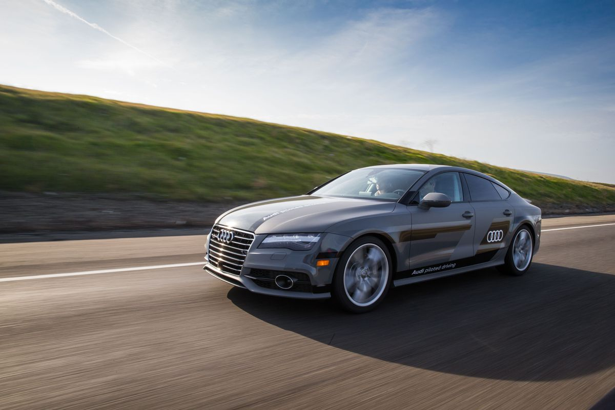 Audi Piloted Driving >> Audi S A7 Sportback Is Driving Itself More Than 550 Miles To Ces