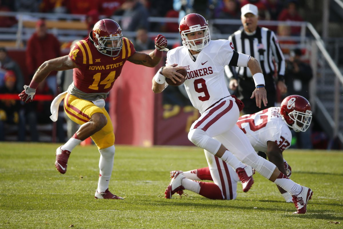 Trevor Knight is off to the races