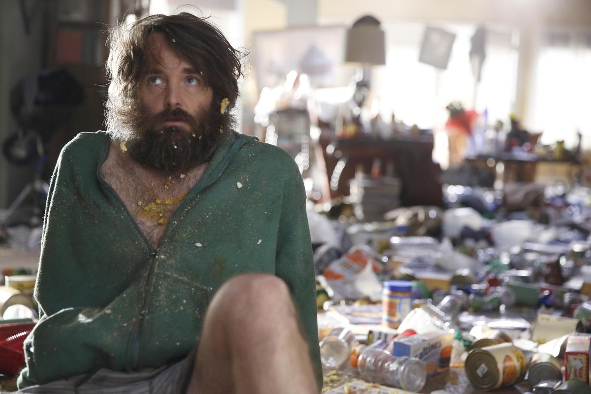 Will Forte stars as the last man on Earth in The Last Man on Earth. This isn't rocket science, people.