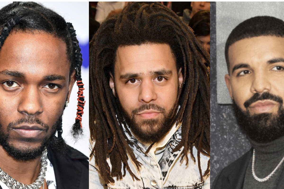 Kendrick Lamar, J. Cole, Drake