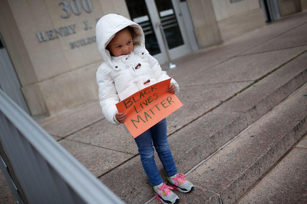 child black lives matter