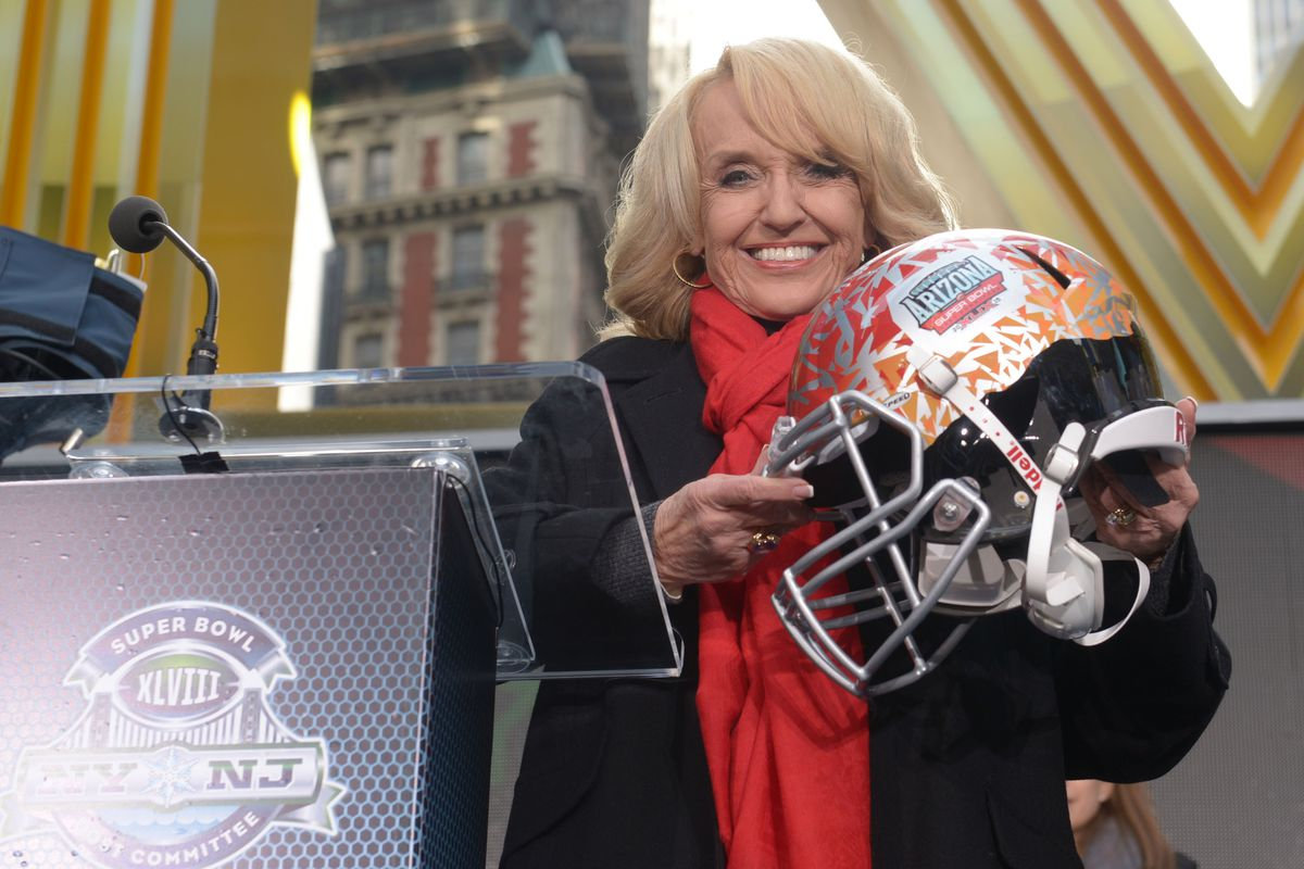 The future of Arizona as a location for sporting events rests in the pen of Gov. Jan Brewer.