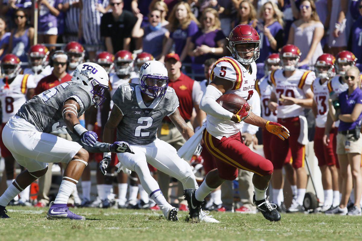 NCAA Football: Iowa State at Texas Christian