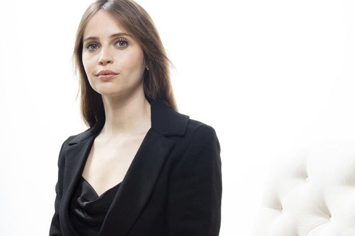 Felicity Jones strove to do justice to Ruth Bader Ginsburg in film -  Chicago Sun-Times