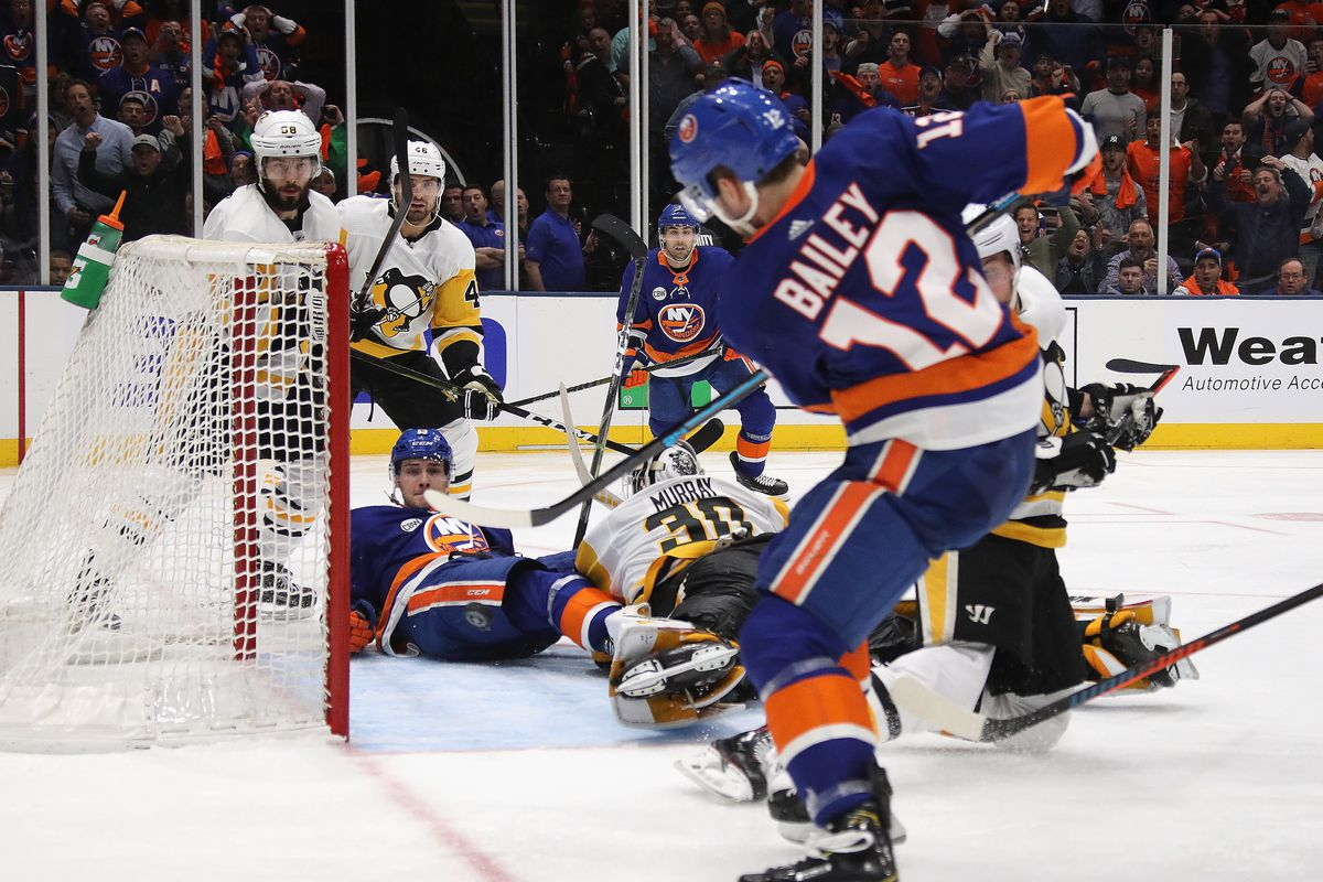 2e63a4505dea4f Penguins Islanders Game 1 Recap  Pittsburgh forces OT