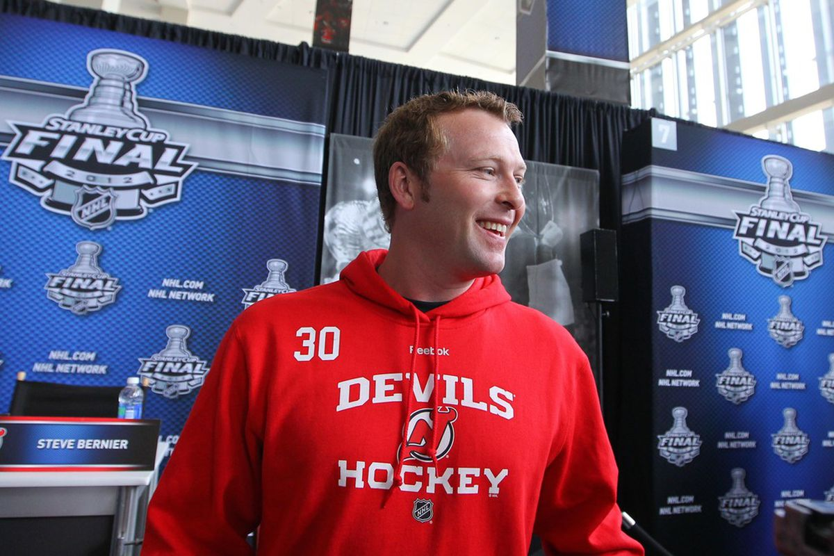 Martin Brodeur Looms Large For Devils Young And Old Sbnation Com