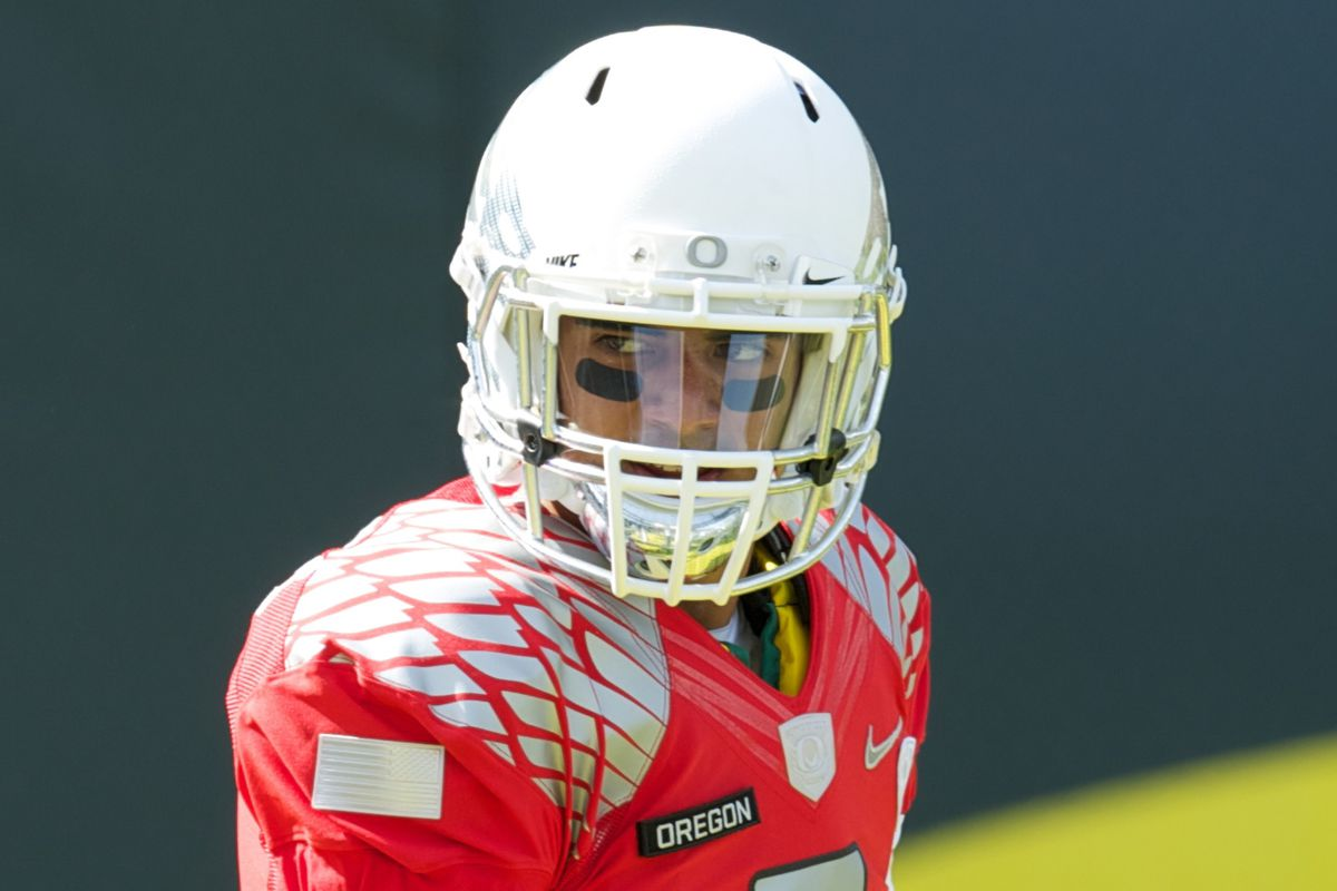 Oregon sophomore Marcus Mariota leads one of the best offense's in the country.