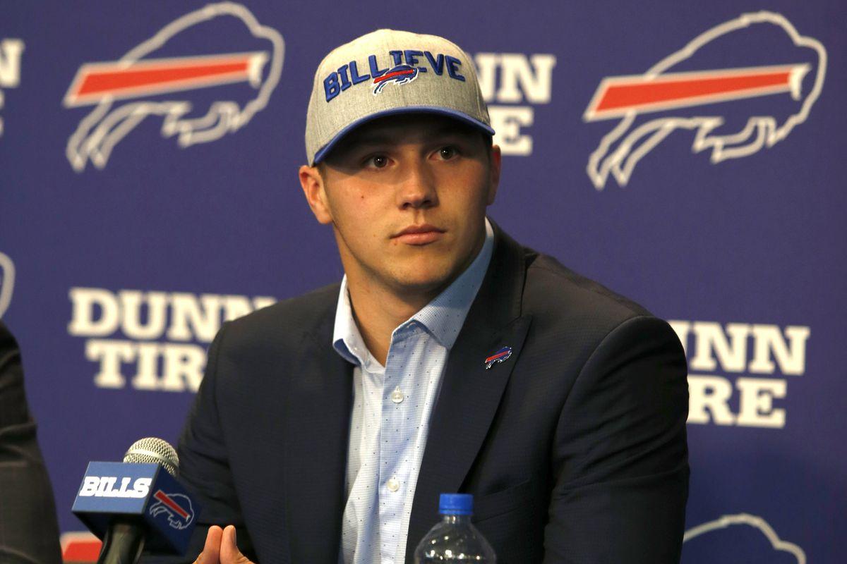 NFL: Buffalo Bills-Josh Allen Press Conference