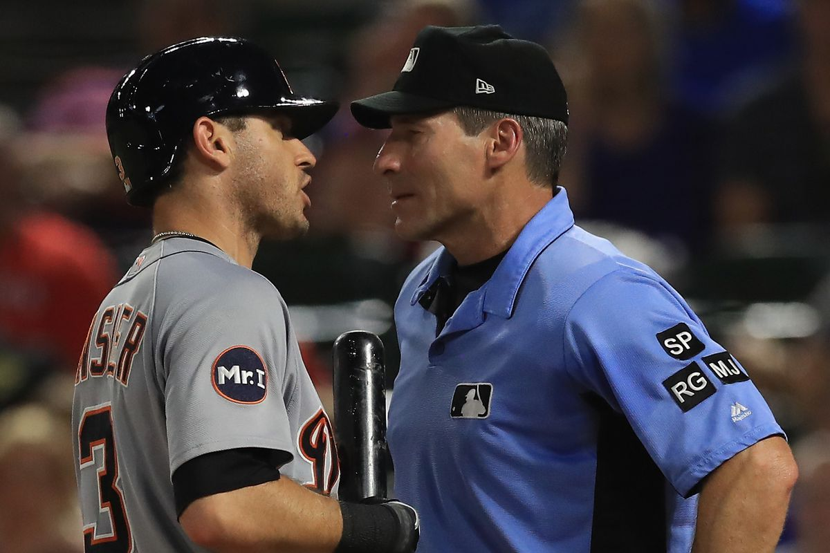 Tigers' Ian Kinsler: Umpire Hernandez 'Needs to Find Another Job'