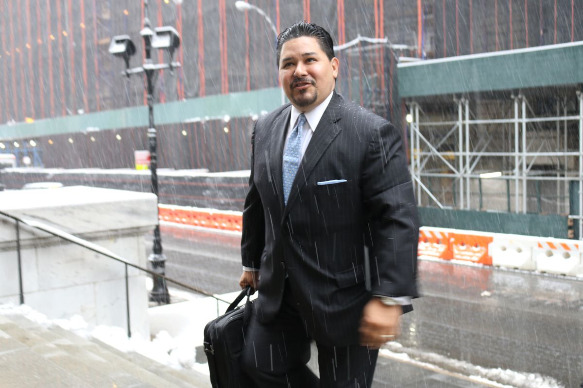 Richard Carranza climbed the steps of Tweed Courthouse, the education department headquarters, on his first day as chancellor.