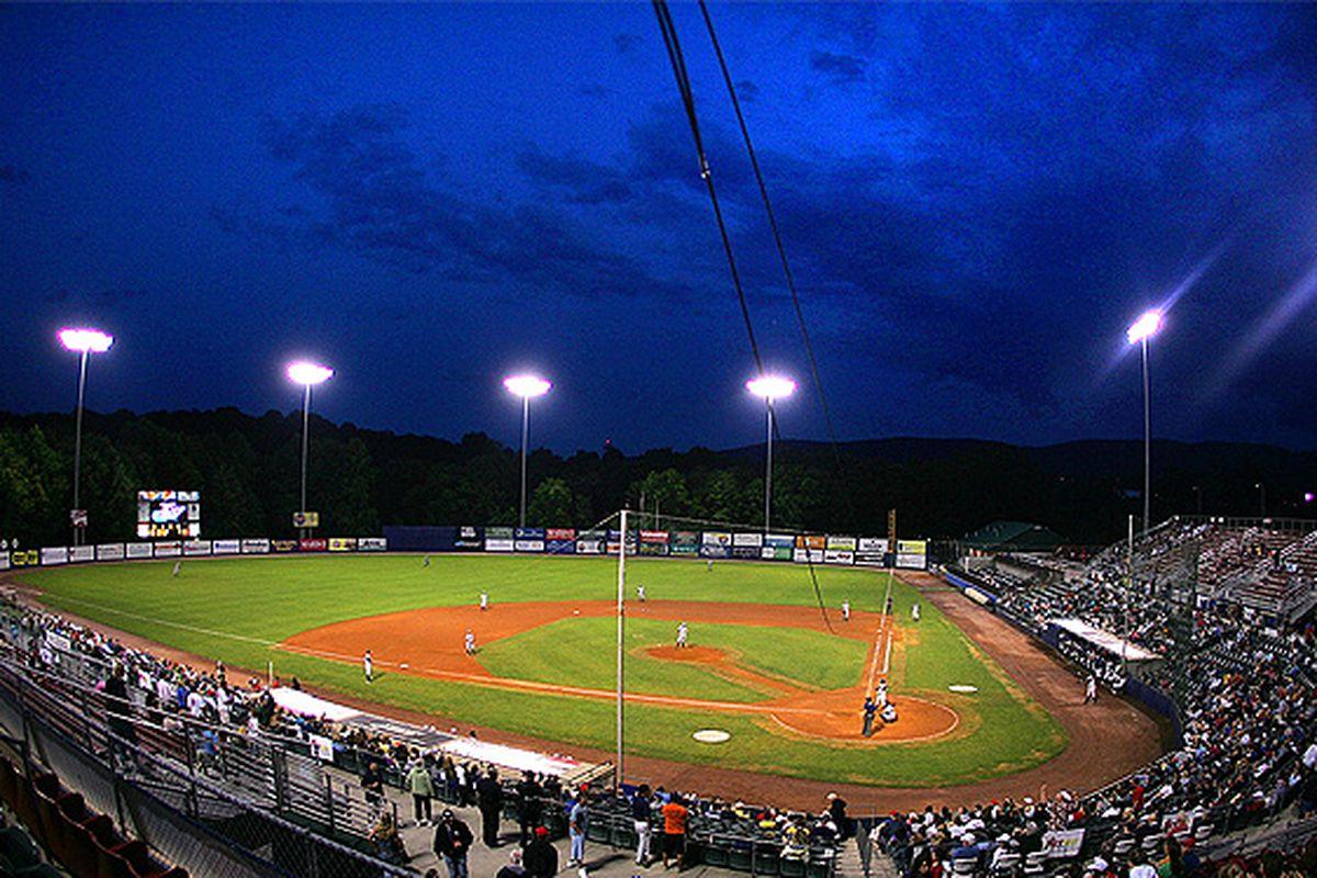 The gorgeous home of the Hudson Valley Renegades, Dutchess Stadium