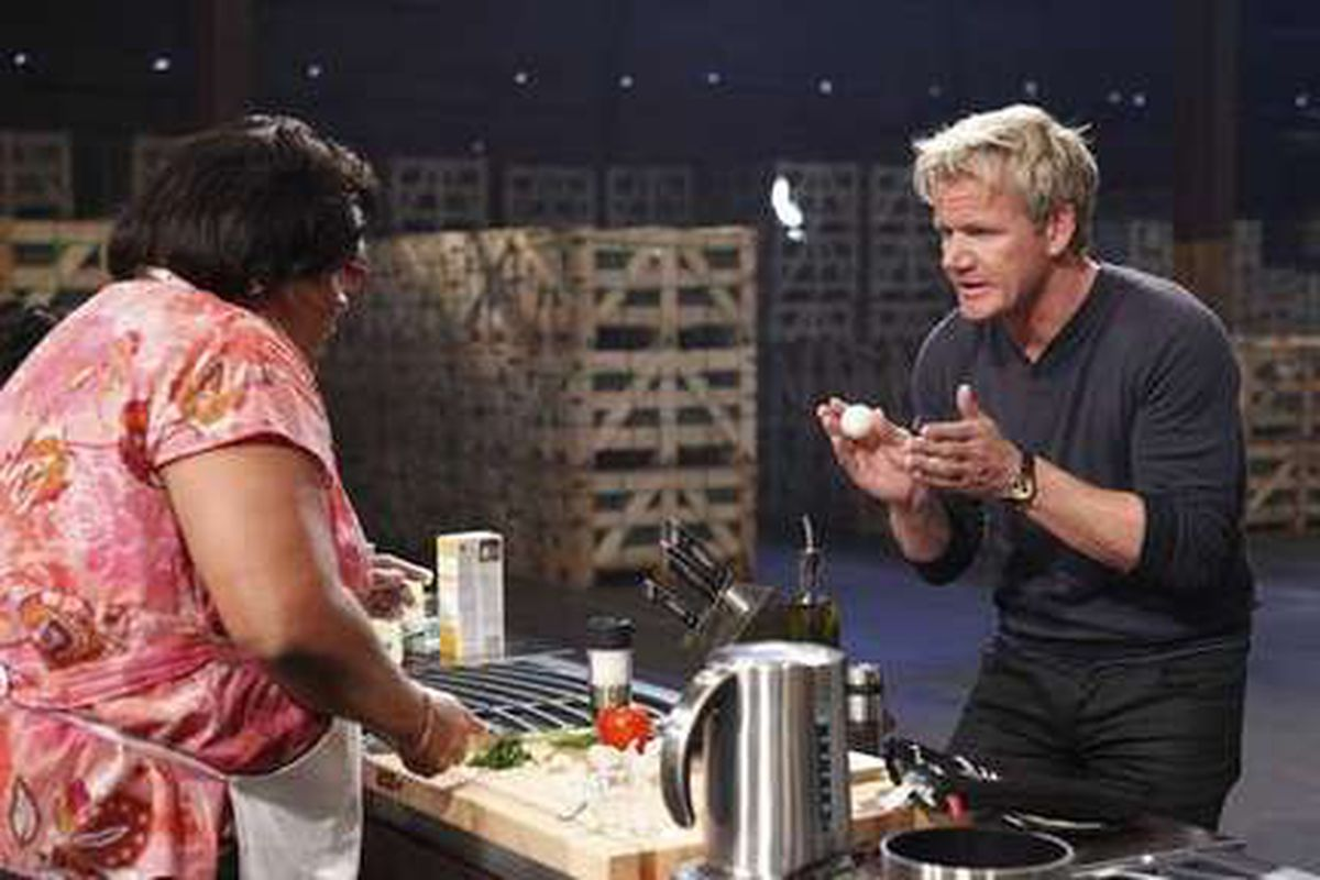 """""""I am Gordon Chef. Thank you for cooking a food(s). Idiot."""""""