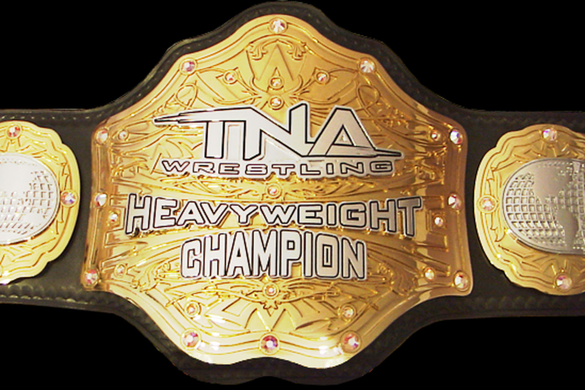 TNA Heavyweight Championship belt stolen right behind ...