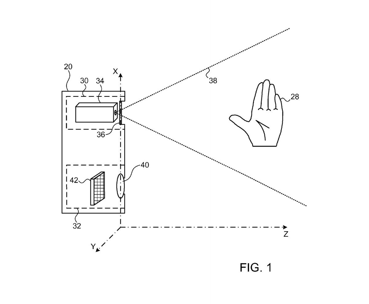 Apple Primesense motion tracking patent