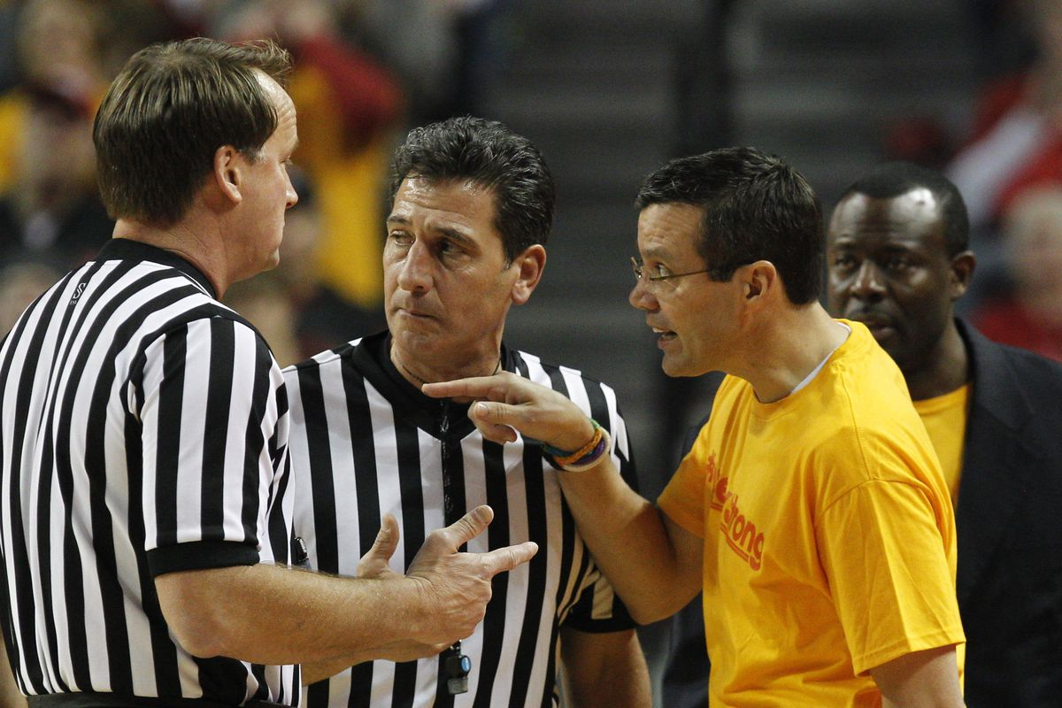 Tim Miles tries to get ejected again