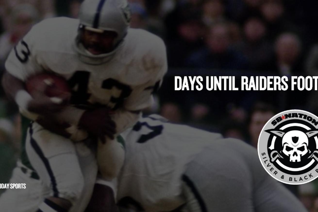 Raiders countdown to kickoff: 43 is John Crockett, who wore it best?