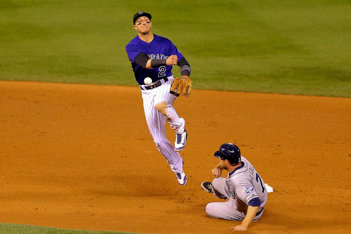 Could Tulo be turning double plays in orange soon?