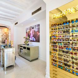 """In addition to a collection of <a href=""""http://www.wildfox.com/sun""""target=""""_blank"""">Wildfox Sun</a> styles that can be purchased on the spot, the store will soon offer shoppers the ability to customize their frames."""