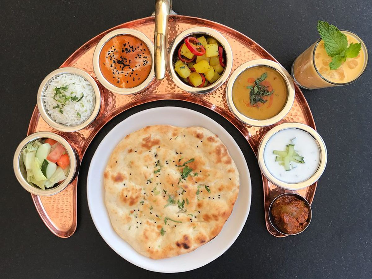 An Array Of Vegetable Dishes At American Tandoor Photo