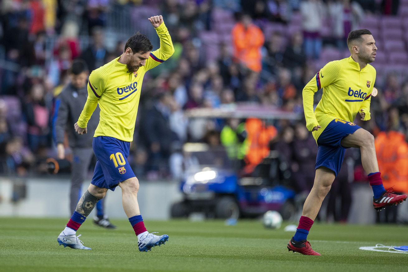 Messi?s enthusiasm in training is contagious, says Alba