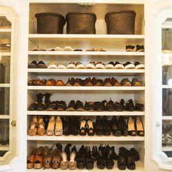 The shoe vault.
