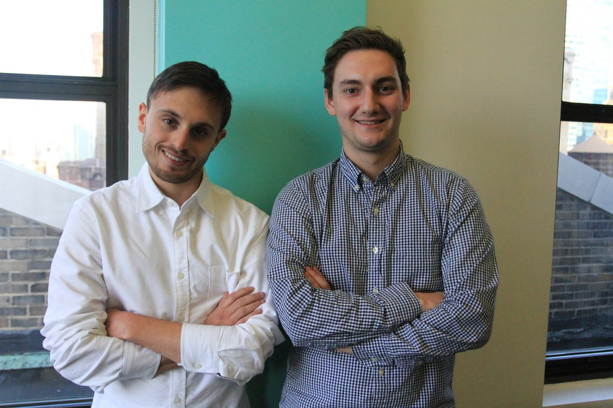 UniFi Scholars co-founders David Helene (left) and Georges Clement.