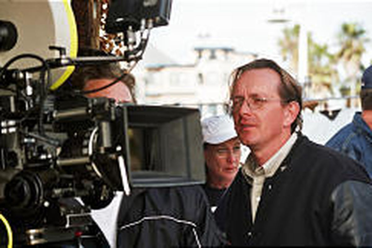 """Richard Dutcher on the set of """"God's Army 2: States of Grace,"""" which his company is distributing."""