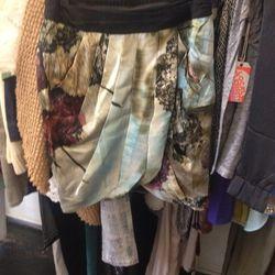 Line and Dot skirt, $20