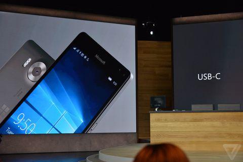 Microsoft Lumia 950 XL with 5 7-inch display and liquid
