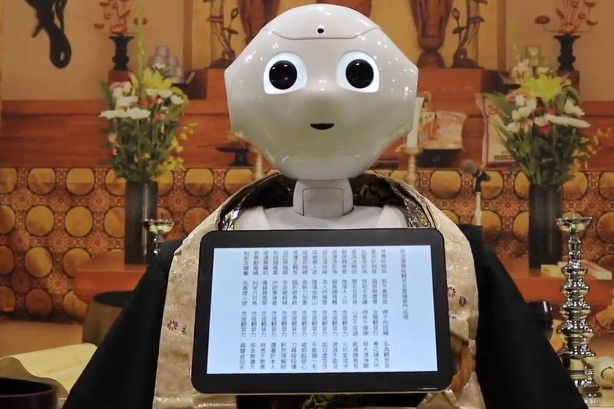 In Japan Robot Priests To Conduct Funerals