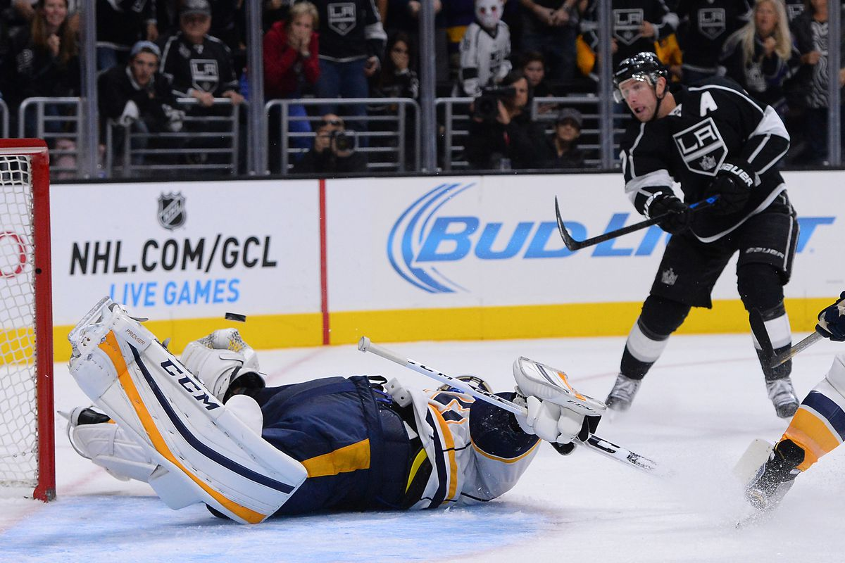 """""""I got this"""" - Jeff Carter, probably."""