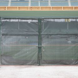 Gate Q with padding added to the gaps, taken 4/6/15 -