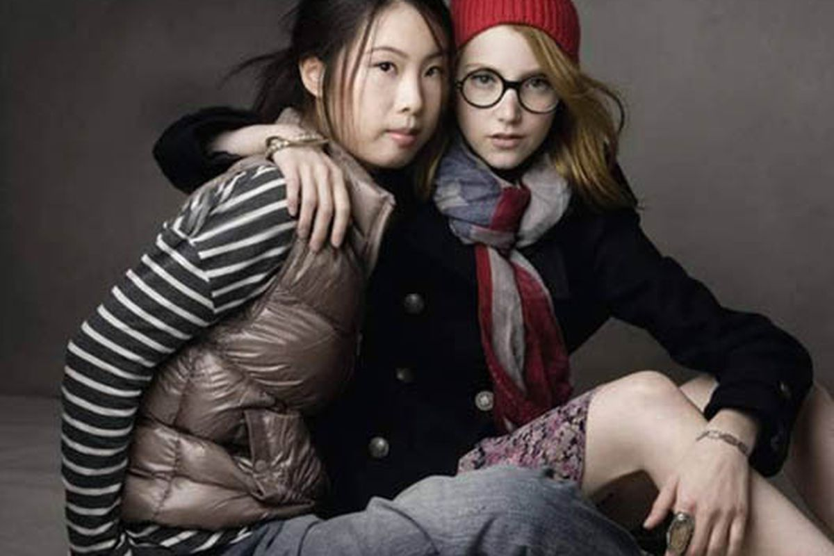 """Image via <a href=""""http://www.refinery29.com/julia-frakes-appears-in-gaps-first-ever-china-campaign.php"""">Refinery29</a>"""