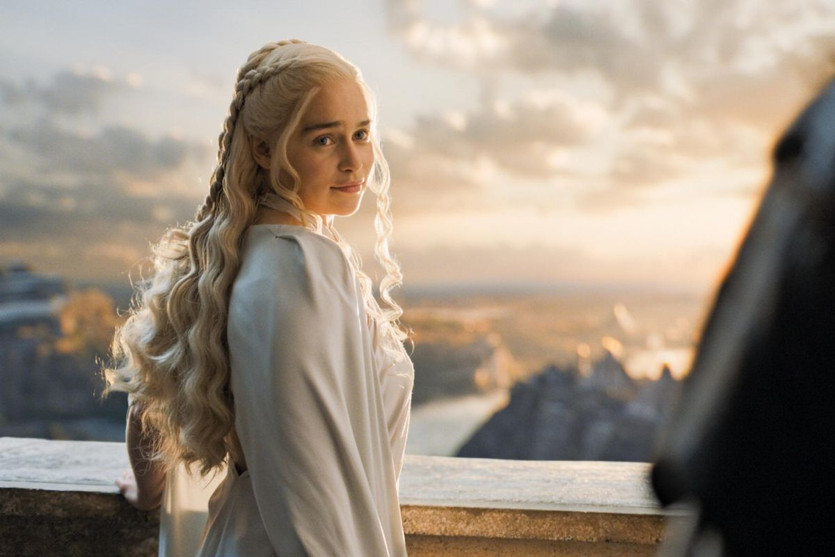 Dany gazes on a change from George R. R. Martin's books.