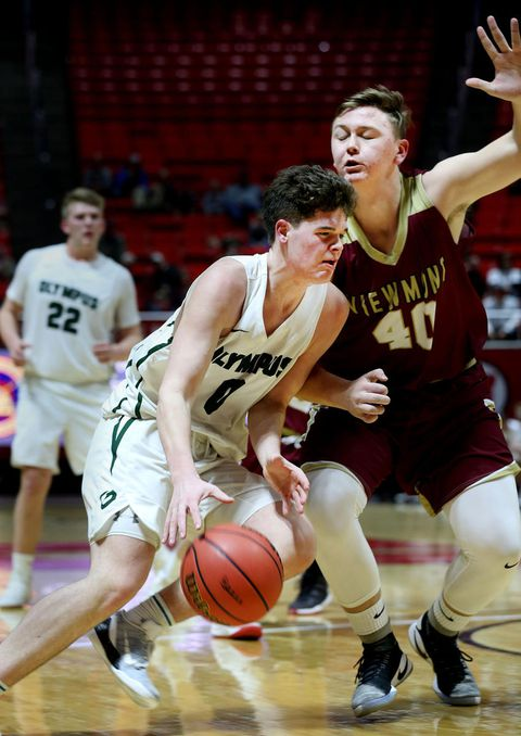 High school boys basketball: Olympus lights up Viewmont in