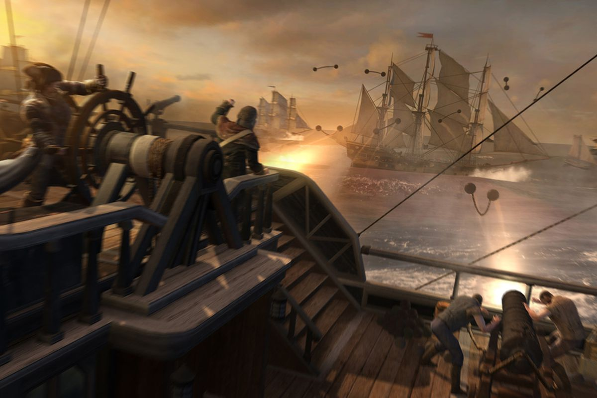 Gallery Photo: Assassin's Creed 3 sea battles gallery