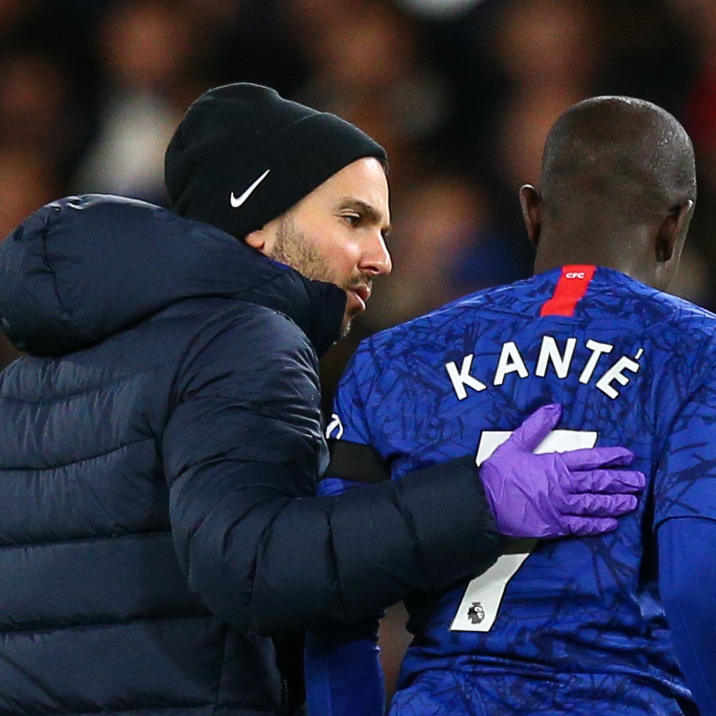 Kanté 'prepared to miss' rest of Chelsea season over COVID-19. photo credit: cfc.com