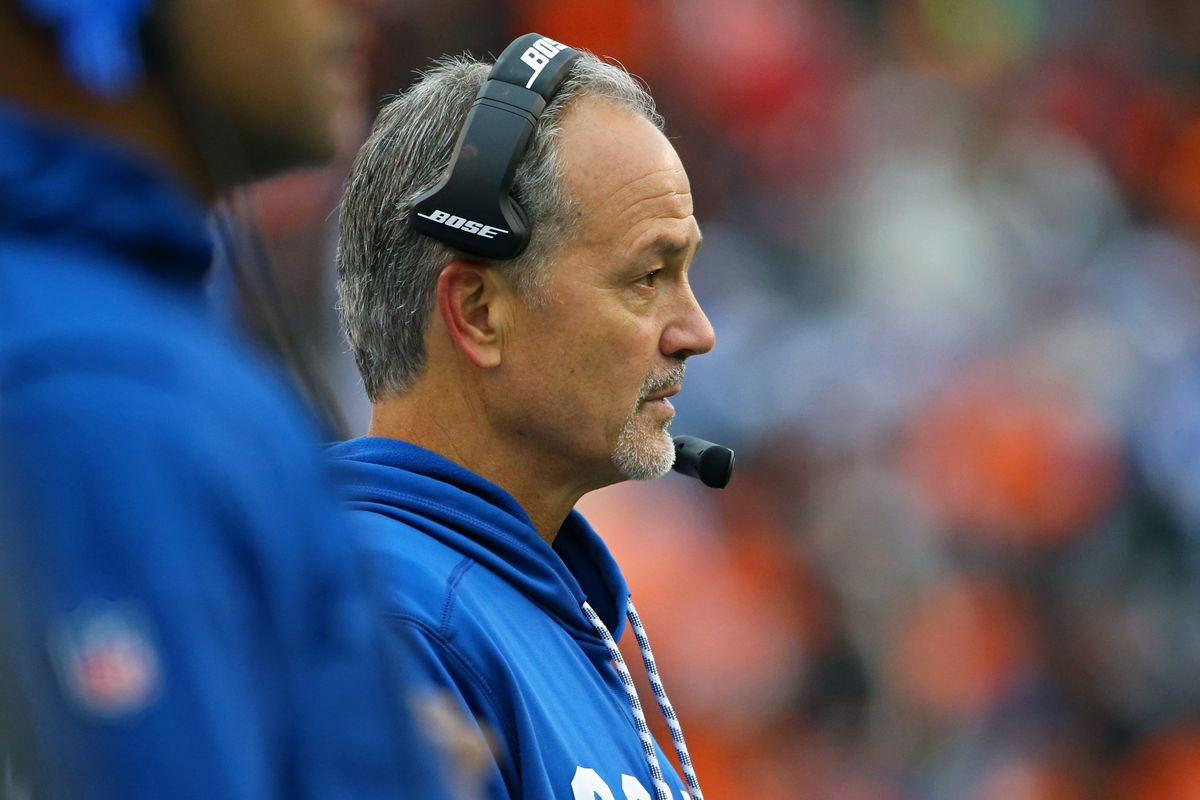 Pagano fired by Colts after six seasons in Indianapolis