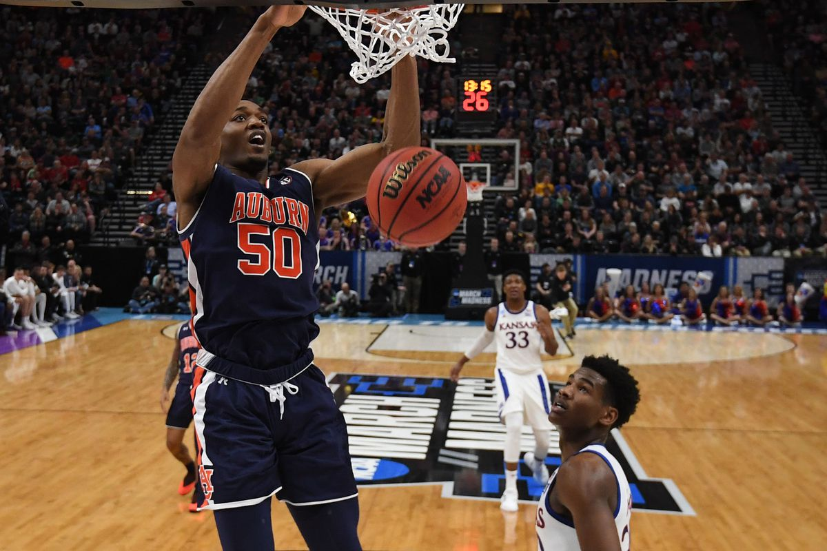 NCAA Basketball: NCAA Tournament-Second Round-Auburn vs Kansas
