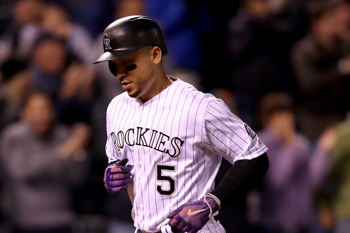 Carlos Gonzalez will return to the Rockies on a 1-year deal worth ...