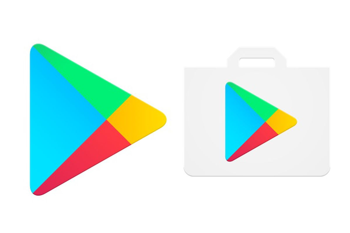 google drops the shopping bag from the play store icon the verge