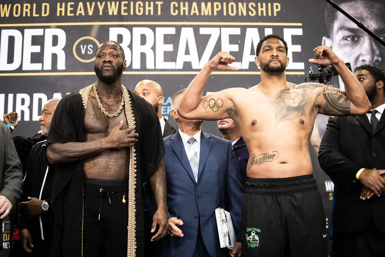 weigh in 0025.0 - How to watch Wilder vs Breazeale