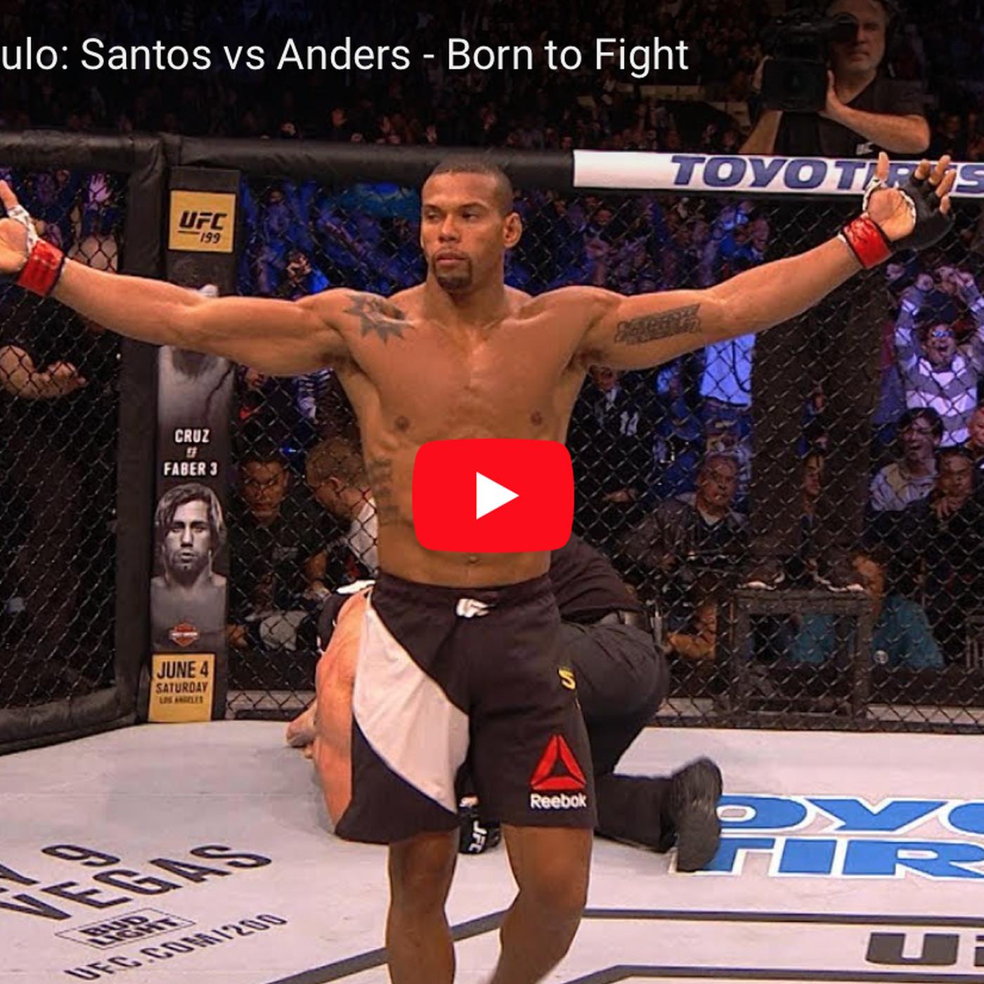 9cd57e6fcf Thiago Santos vs Eryk Anders full fight video preview for UFC Sao Paulo  main event - MMAmania.com