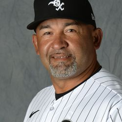 New bench coach — and future White Sox manager? — Miguel Cairo.