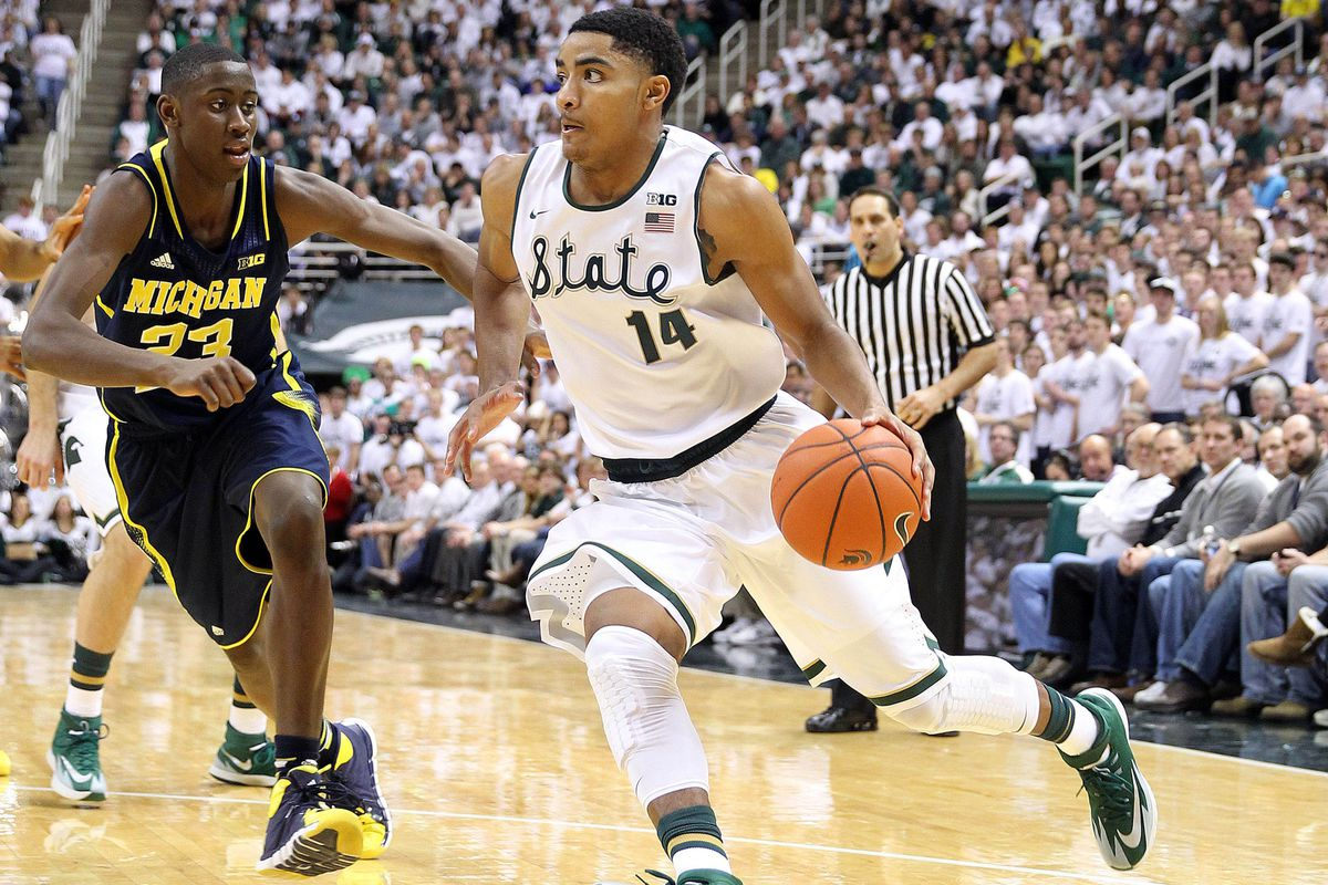 Gary Harris would provide the Nuggets with a great two-way player.