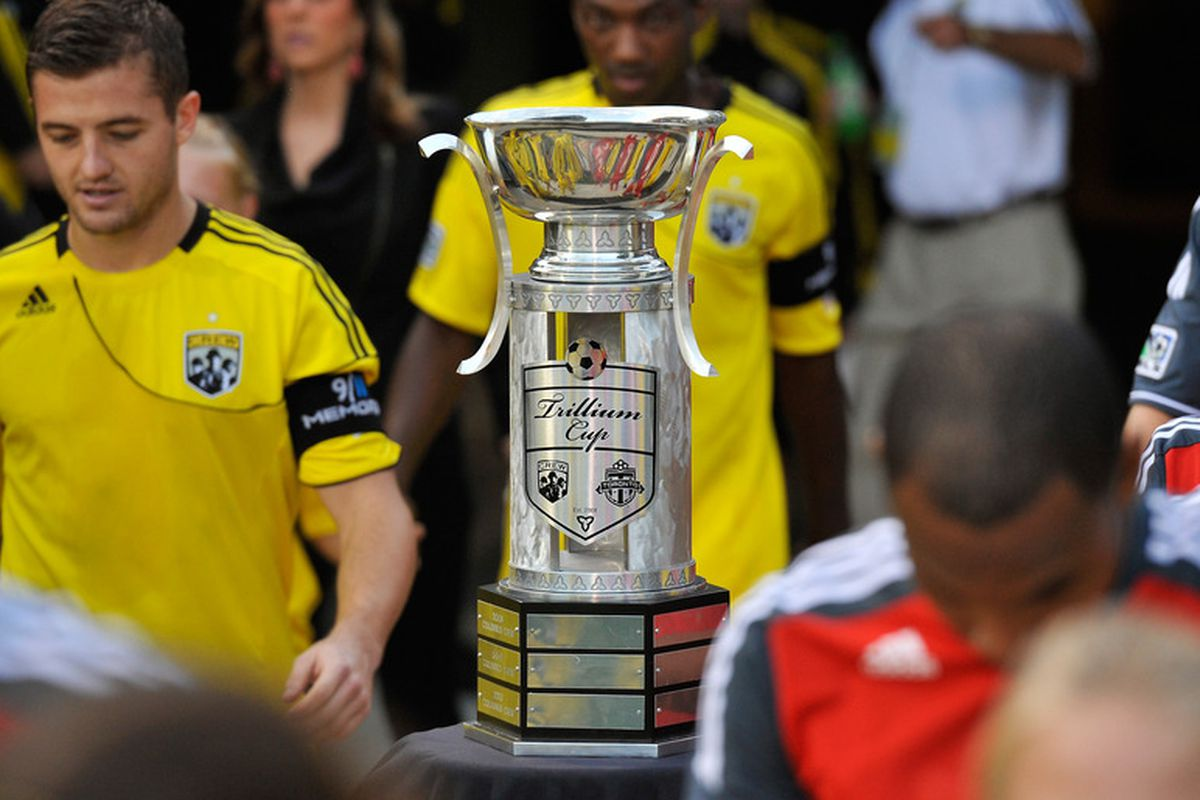 The only piece of silverware that TFC will play for this season - hurray?