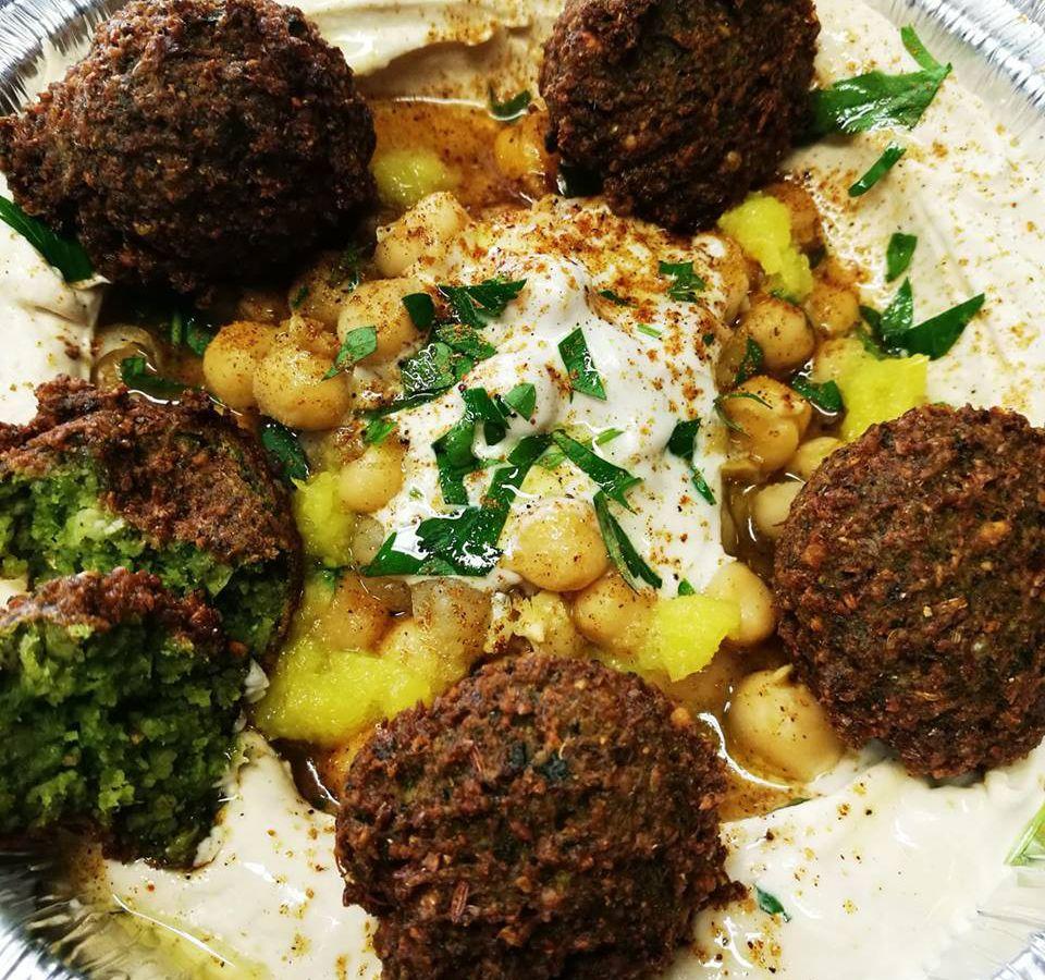 Falafel from Hummus Among Us