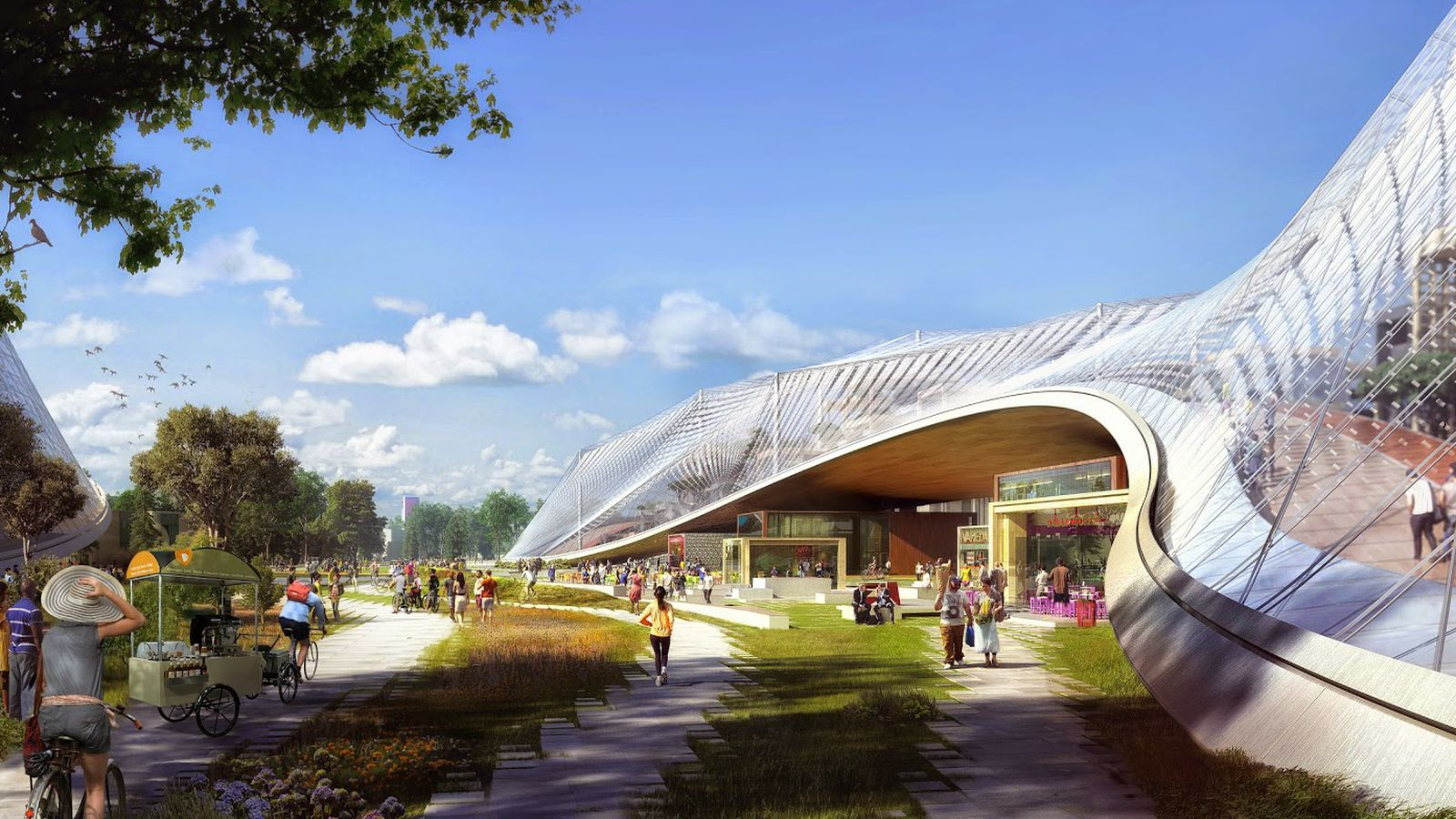 Google may get its futuristic new campus after all - The Verge on New Get Design  id=84884