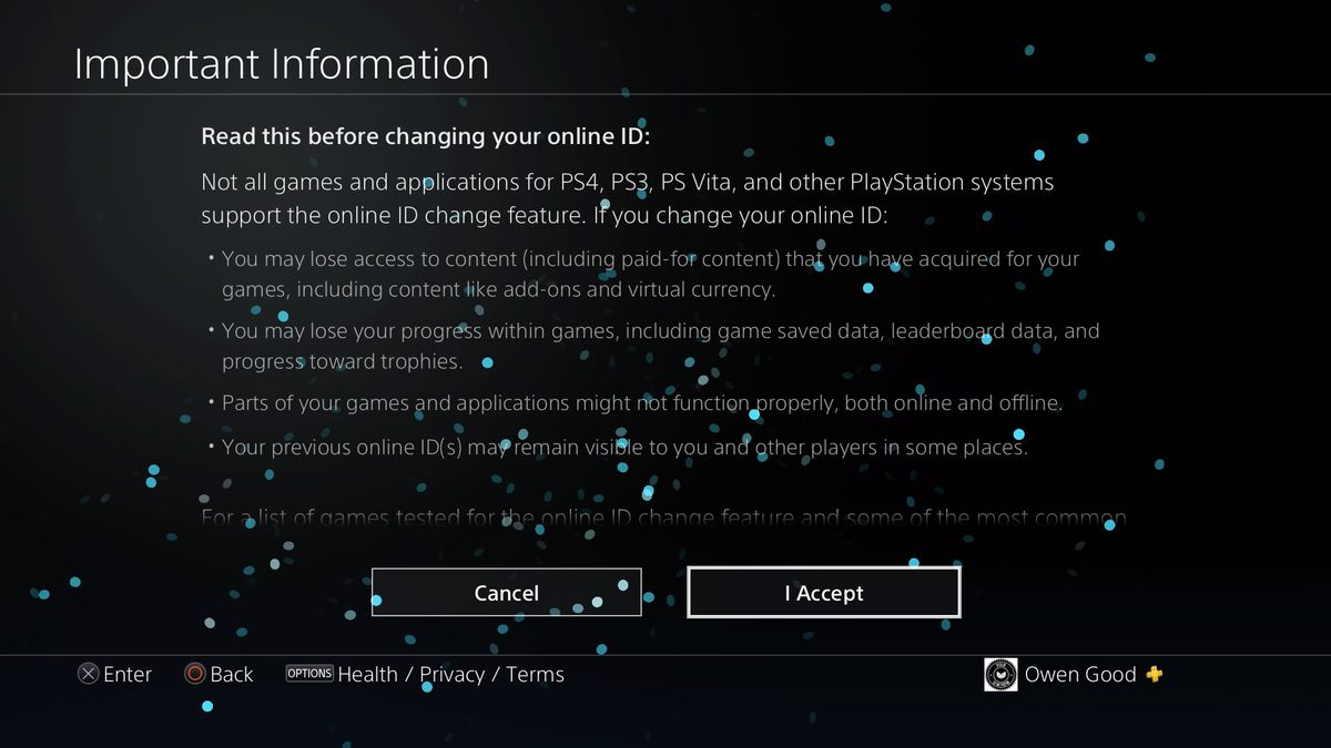 PSN name change: How it works, what to expect when changing